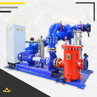 Cooling Tower Water Filtration Skid Systems