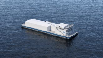 MWP Floating Desalination Plant for Freshwater from Seawater