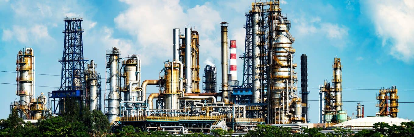 Oil and Gas Downstream Water Treatment Application